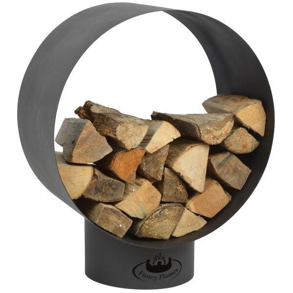 Modern Round Wood Storage Log Rack By EsschertDesign