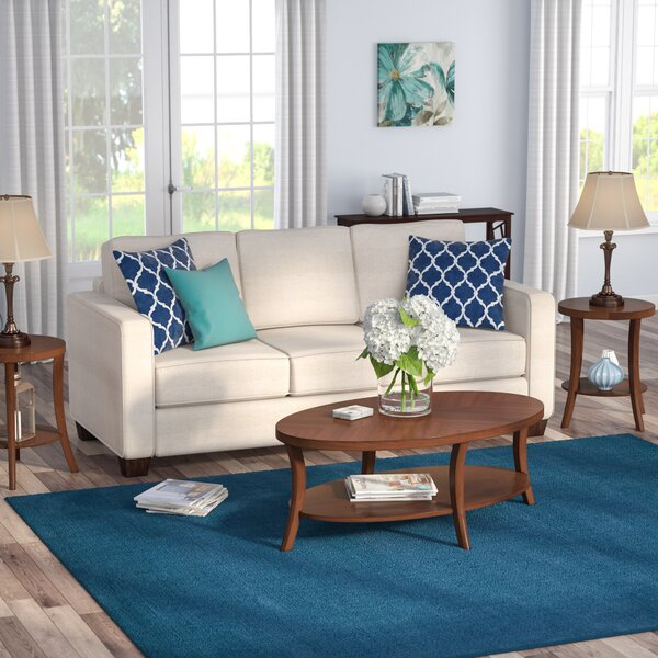 Ohlman Transitional 3 Piece Coffee Table Set by An