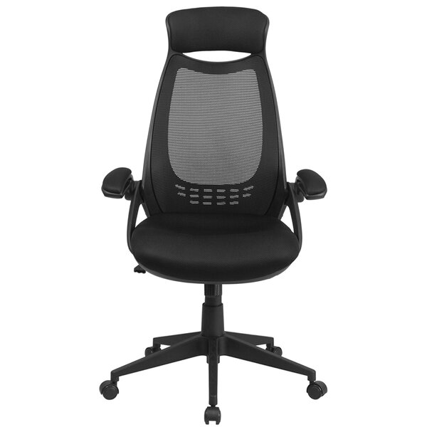 Wulff High-Back Mesh Executive Chair by Symple Stuff
