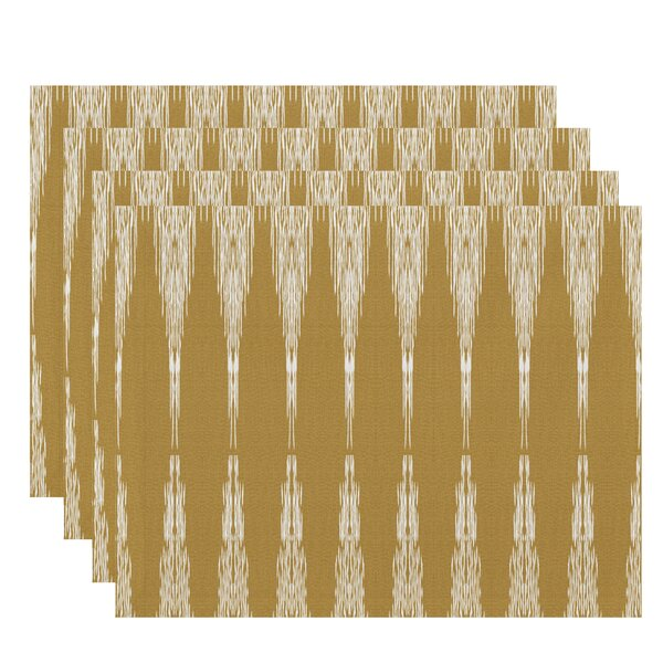 Lassiter Rectangular Geometric Placemat (Set of 4) by Bungalow Rose