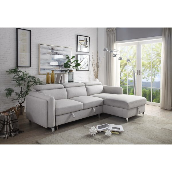 Concorde Leather Sectional Collection By Orren Ellis