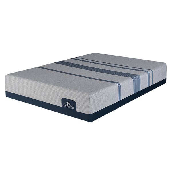 iComfort Max 1000 13 Plush Gel Memory Foam Mattress and Box Spring by Serta