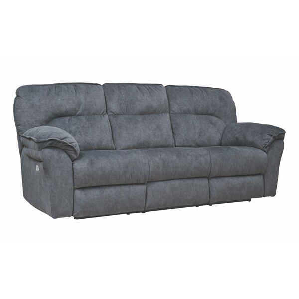 Full Ride Reclining Sofa by Southern Motion Southern Motion