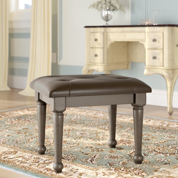 Wehner Vanity Stool by Astoria Grand