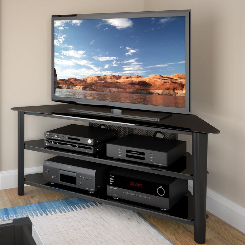dcor design alturas corner 60 quot tv stand amp reviews wayfair. Black Bedroom Furniture Sets. Home Design Ideas