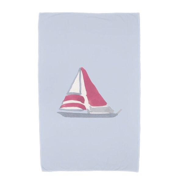 London Beach Towel by Breakwater Bay