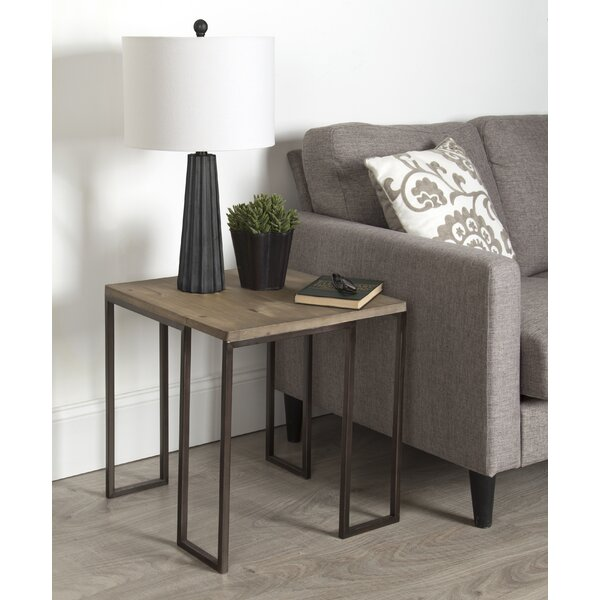Woodrum End Table By Union Rustic