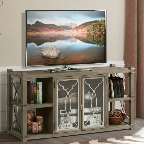 Brook Solid Wood TV Stand For TVs Up To 70