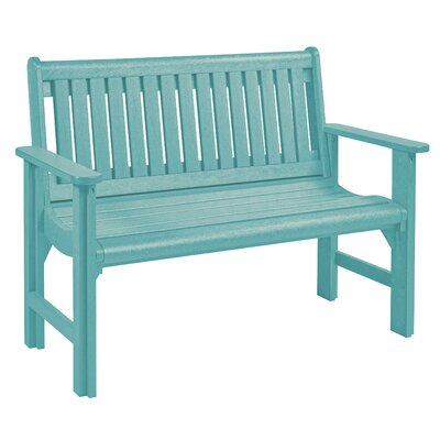 Beachcrest Home Plastic Garden Bench Color Benches