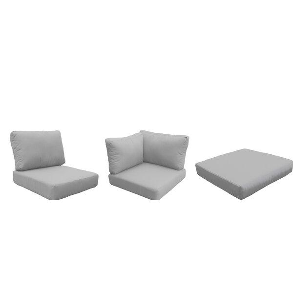 Miami 9 Piece Outdoor Cushion Set by TK Classics TK Classics