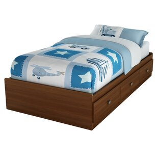 Shop For Willow Mates Bed with 3 Drawers BySouth Shore