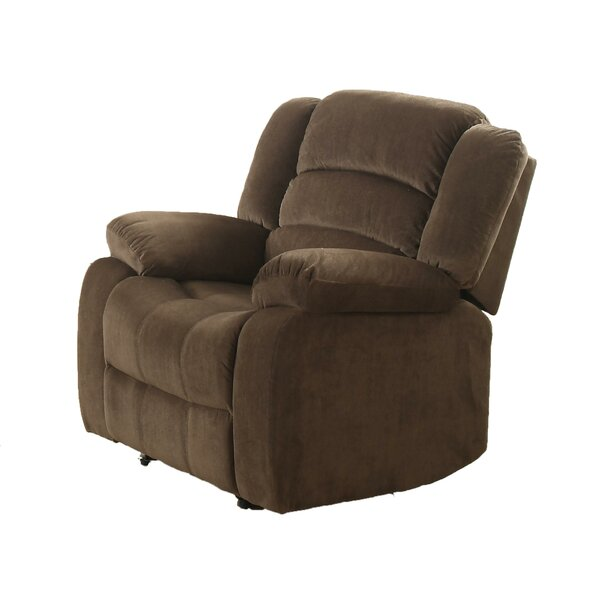 Dimitrov Fabric Upholstered Manual Recliner W002823682