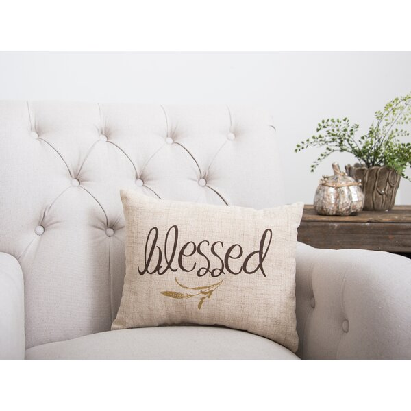 Blessed Lumbar Pillow by C&F Home