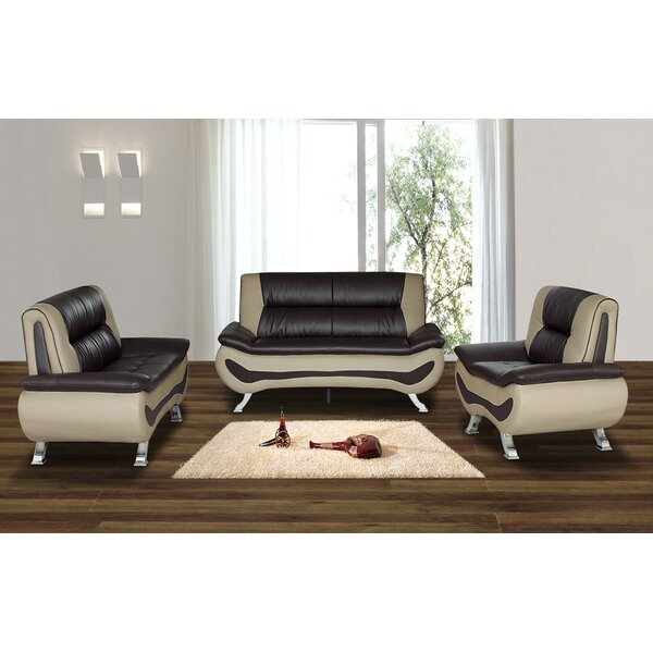 Berkeley Heights 3 Piece Living Room Set by Wade Logan