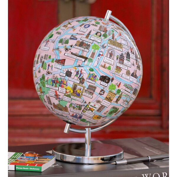 Amsterdam Night Lights Globe by Waypoint Geographic