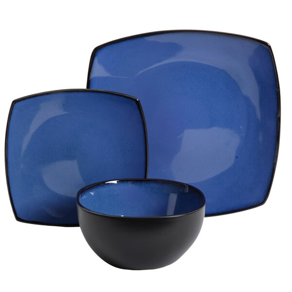 Kendell 12 Piece Dinnerware Set, Service for 4 by Winston Porter
