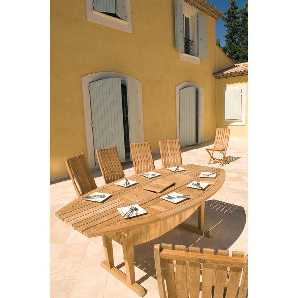 Teak Altaro Extendable Dining Table by Les Jardins