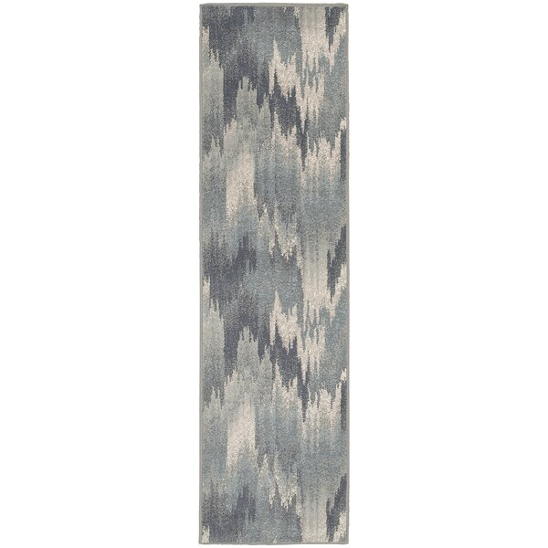 Larson Blue Area Rug by Ebern Designs