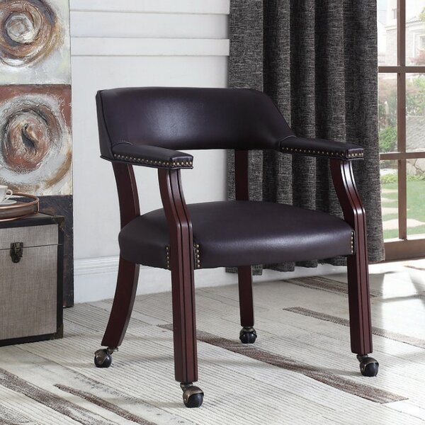 Redus Upholstered Office Chair by Charlton Home