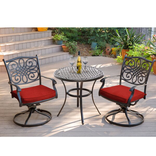 Rackley Traditions 3 Piece Bistro Set by Astoria Grand