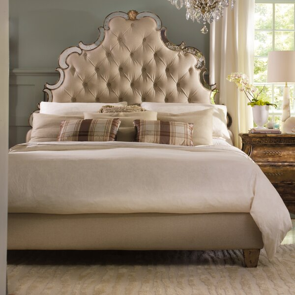Sanctuary Upholstered Standard Bed by Hooker Furniture