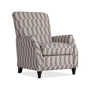 Push Back Stain Glass Fabric Recliner by ProLounger