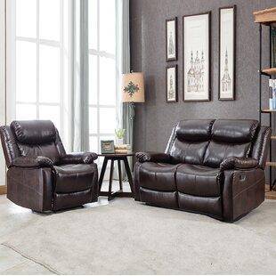 2 Piece Reclining Living Room Set by Red Barrel Studio®
