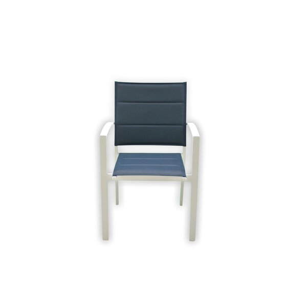 Patrica Stacking Patio Dining Chair (Set of 6) by Orren Ellis