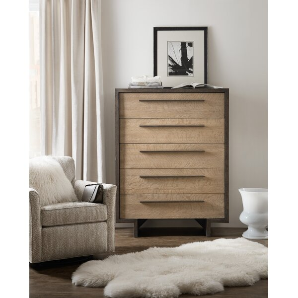 Miramar Point Reyes Hermosa 5 Drawer Chest by Hooker Furniture