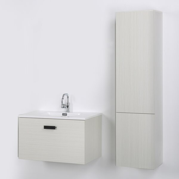 32 Wall-Mounted Single Bathroom Vanity Set by Streamline Bath