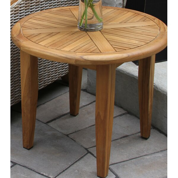 Tibbitts Teak Side Table by Mistana