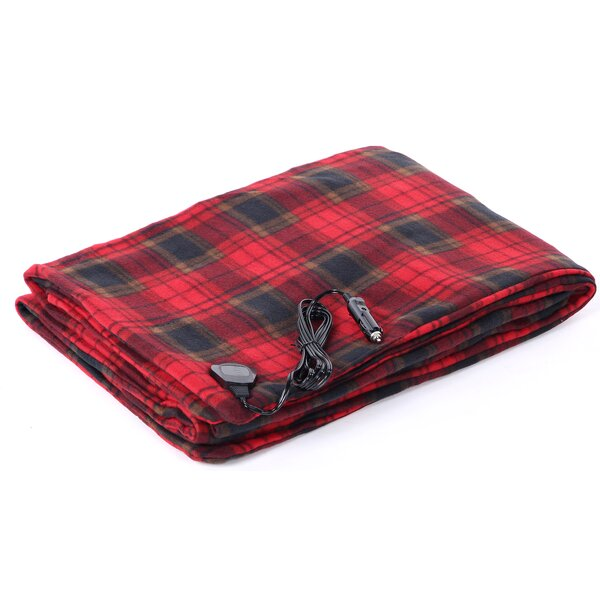 Malachy Heated Car Blanket by Alwyn Home