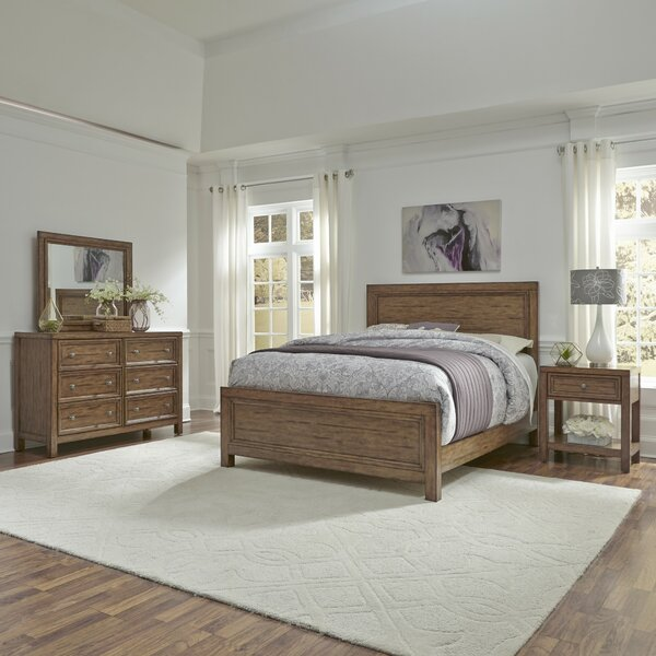 Milford Standard 3 Piece Bedroom Set by Canora Grey