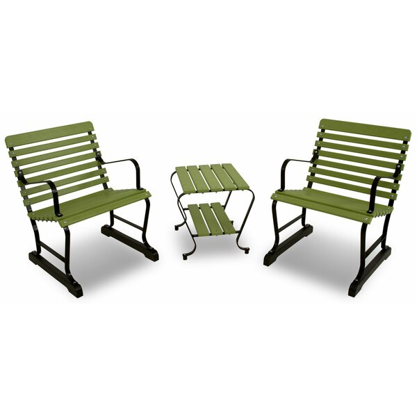 Vintage 3-Piece Seating Set by Ivy Terrace