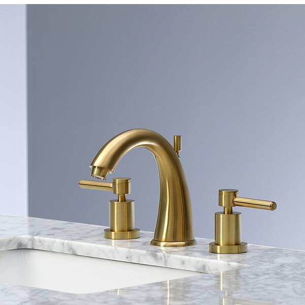 Concord Widespread Bathroom Faucet with Drain Assembly by Kingston Brass Kingston Brass
