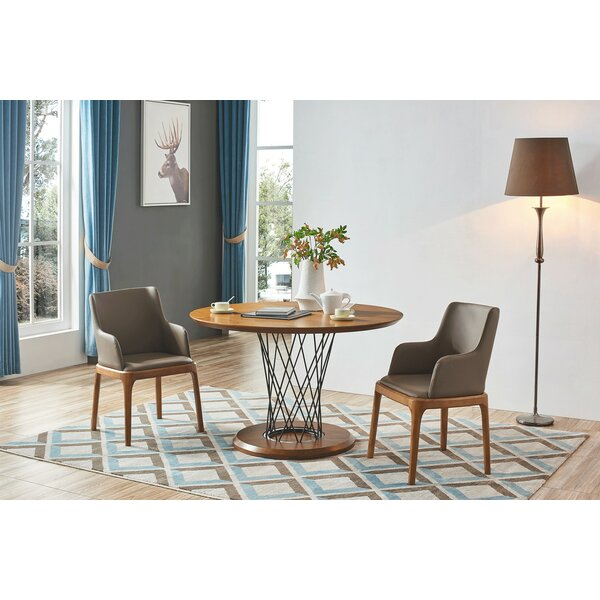Aloway 3 Piece Solid Wood Dining Set by Brayden Studio