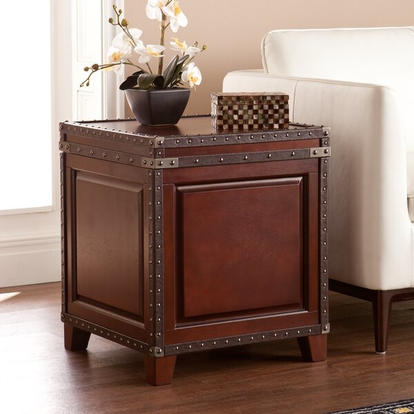 Newton End Table With Storage by Alcott Hill