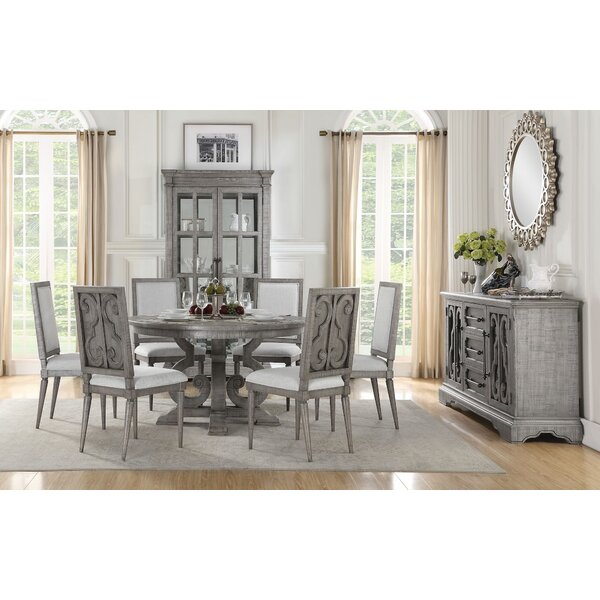 Casandra 7 Pieces Dining Set by Ophelia & Co.