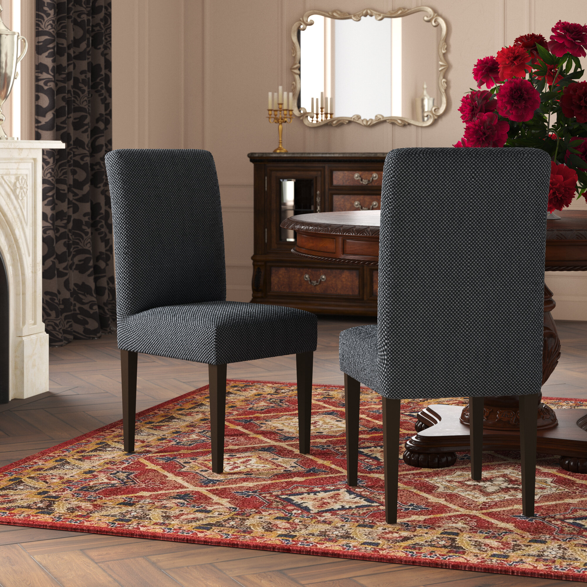 Kitchen & Dining Chair Covers | Wayfair