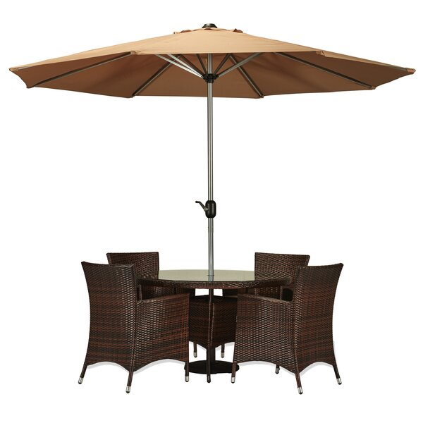 Sharber 6 Piece Dining Set by Brayden Studio