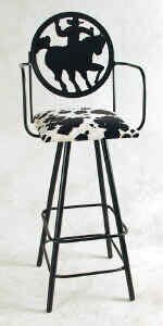 Silhouette 30 Swivel Bar Stool by Grace Collection