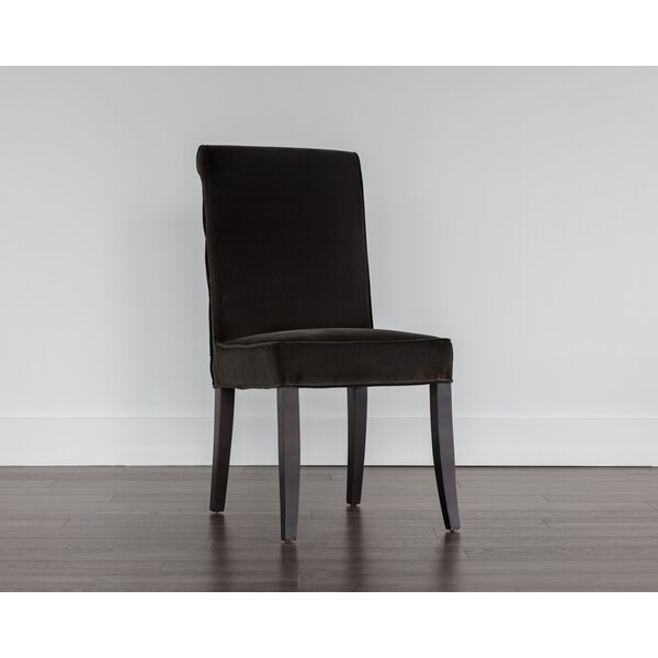 Baron Upholstered Dining Chair (Set of 2) by Sunpan Modern