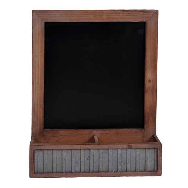 Storage Compartment Wall Mounted Chalkboard by Che