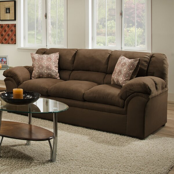 Dashing Collection Simmons Upholstery Beasley Sofa by Alcott Hill by Alcott Hill