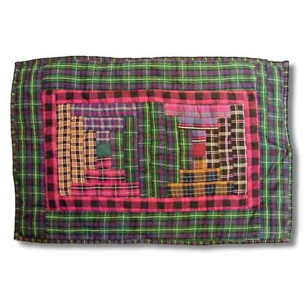 Tartan Log Cabin Placemat (Set of 4) by Patch Magic