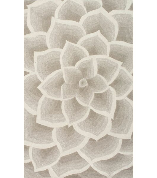 Bordeaux Hand Woven Ivory Area Rug By Nuloom.