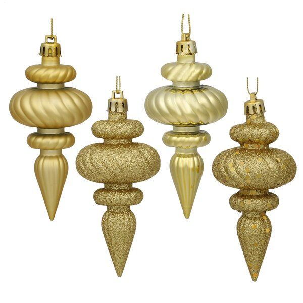 Finial Assorted Christmas Ornament (Set of 8) by Mercer41