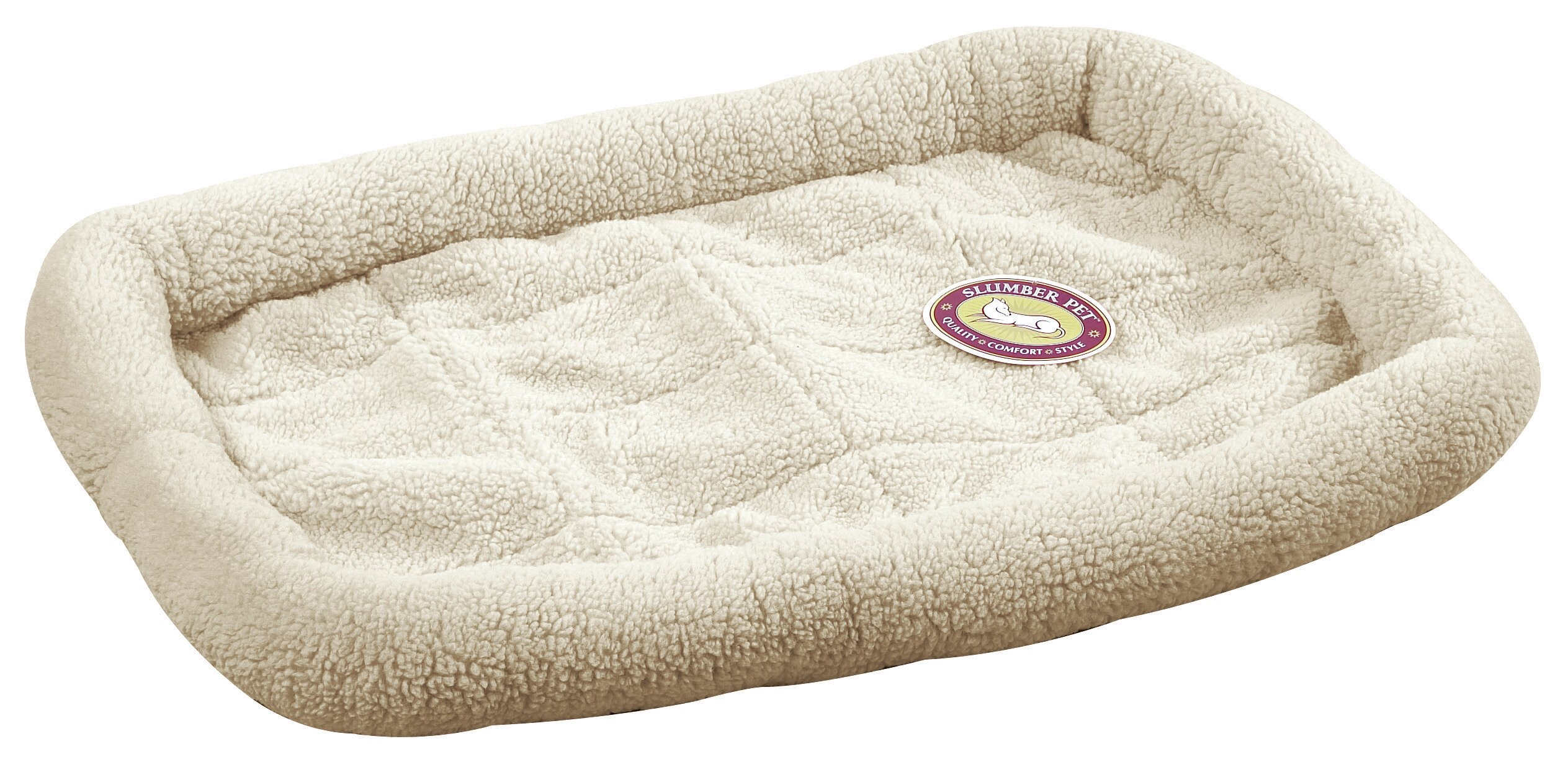 Slumber Pet Sherpa Dog Crate Dog Mat Amp Reviews Wayfair