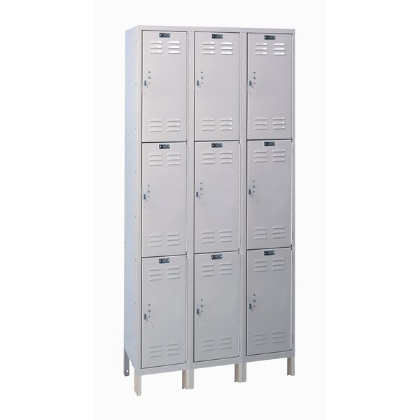ValueMax 3 Tier 3 Wide Employee Locker by Hallowell