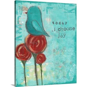 'Today' by Cassandra Cushman Wall Art on Wrapped Canvas by Great Big Canvas